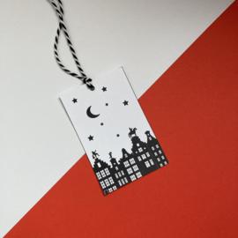 Kadolabel Sinterklaas - Printable