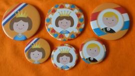Koninginnedag button