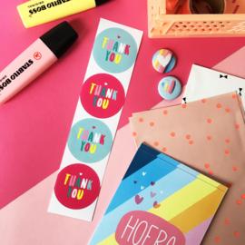 Stickers TypischMies Thank You