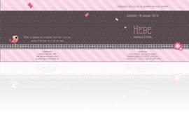 Geboortekaartje Hebe