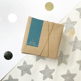 Stickers Merry Christmas (langwerpig)