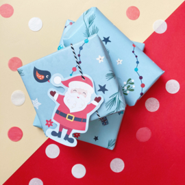 Kerst inpakpapier (printable)