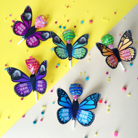 Traktatie Vlinder printable