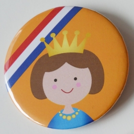 Koninginnedag button