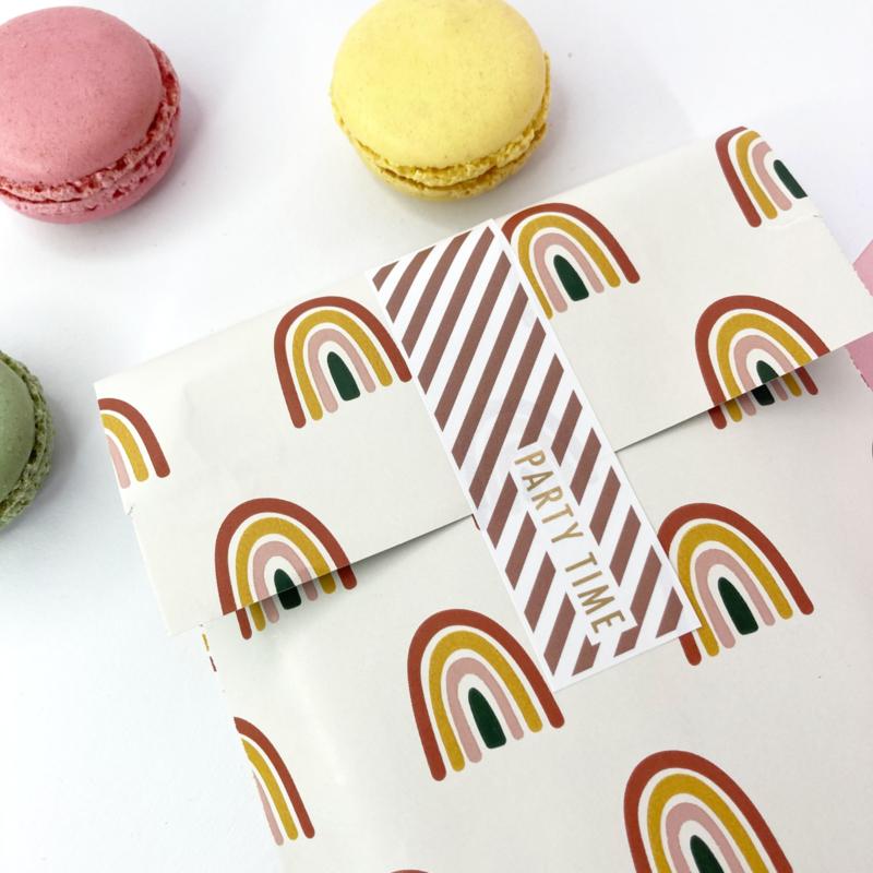 Stickers Party time - 2 kleuren