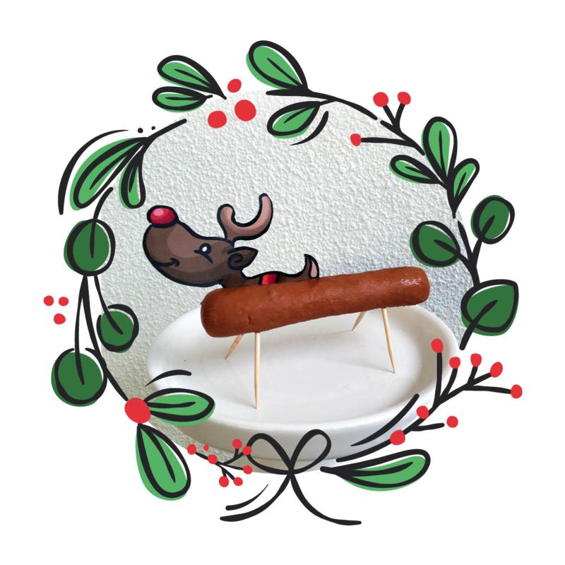 Printable Rudolph (groot)