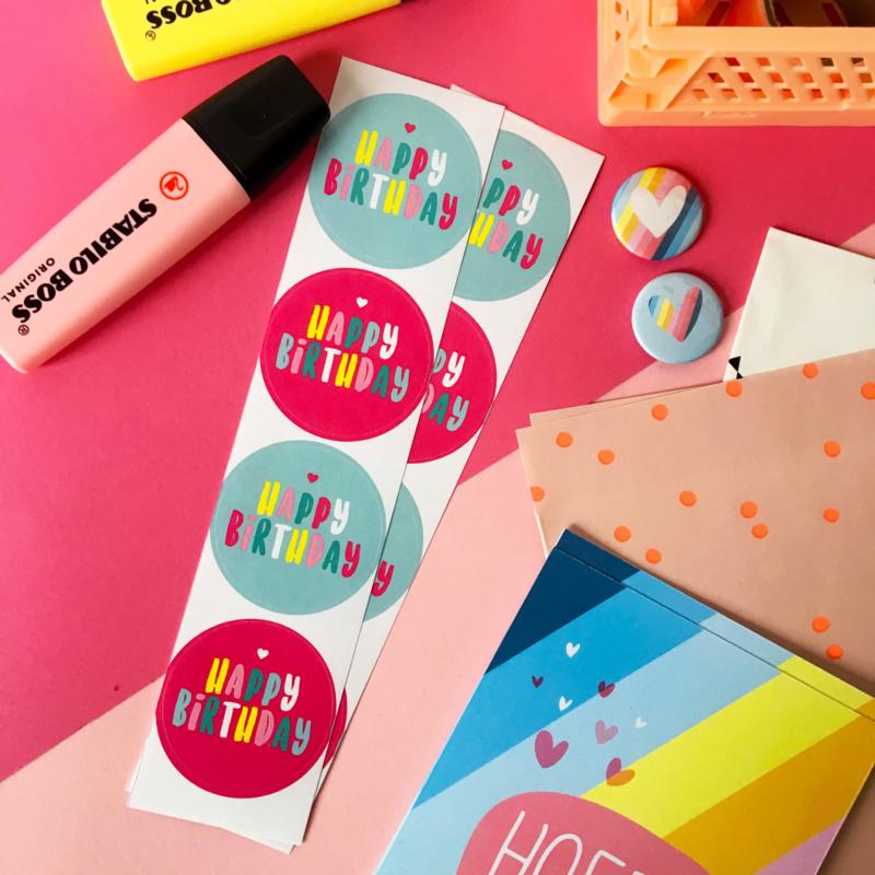 Stickers TypischMies Happy Birthday