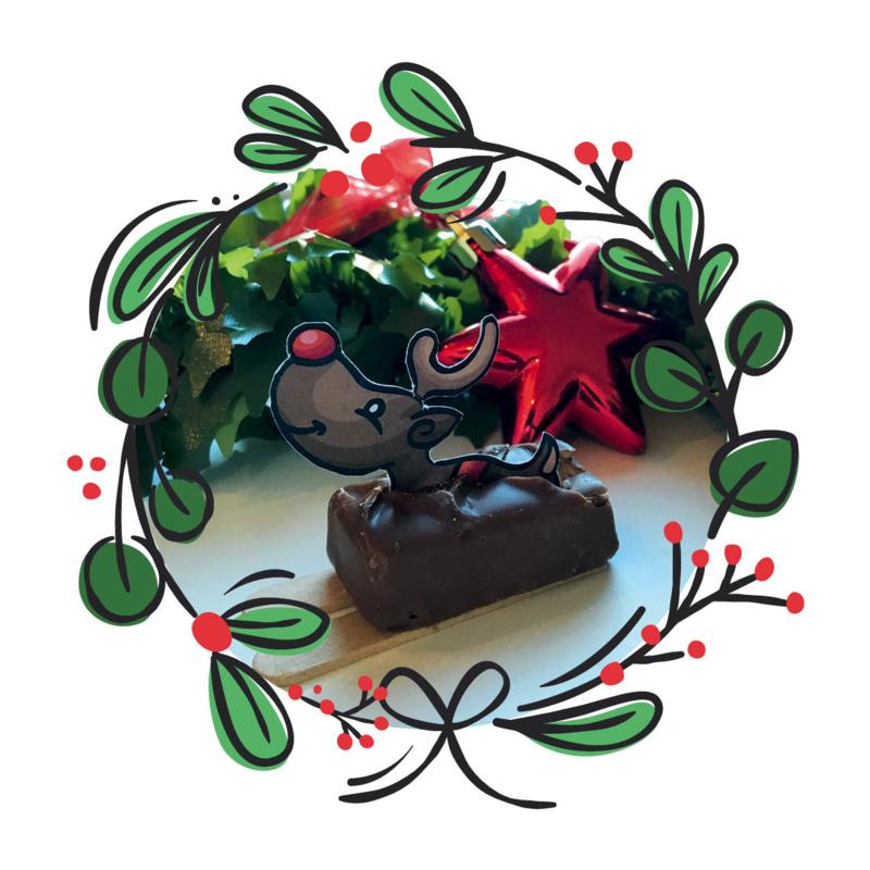 Printable Rudolph (klein)