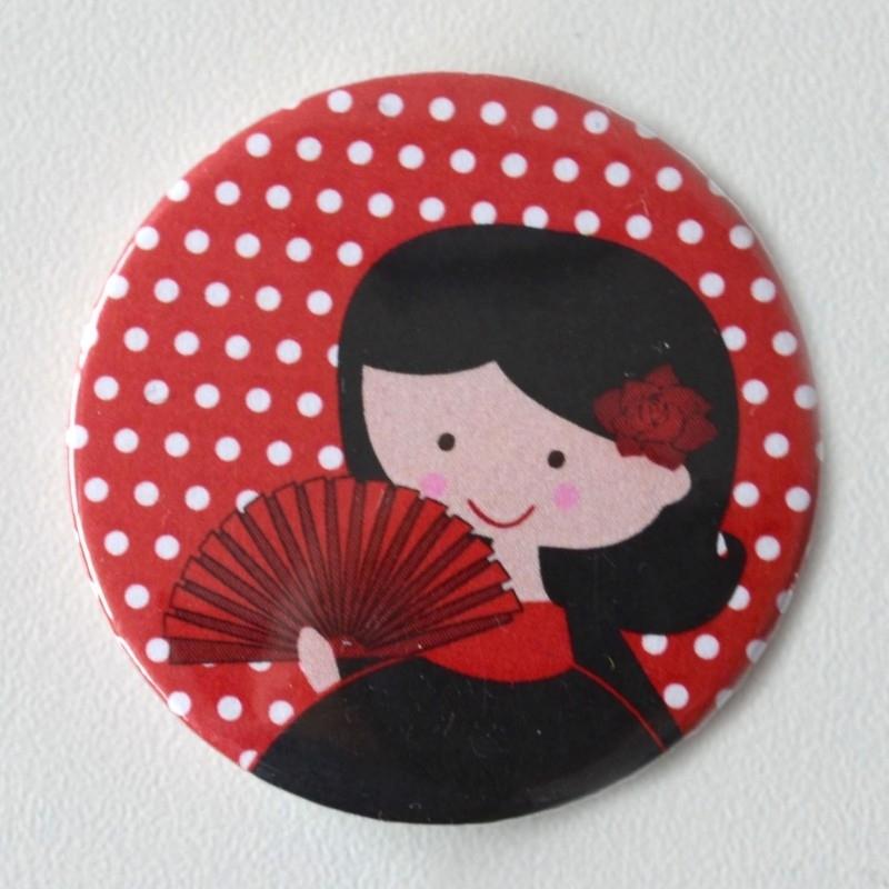 Button flamengo danseres