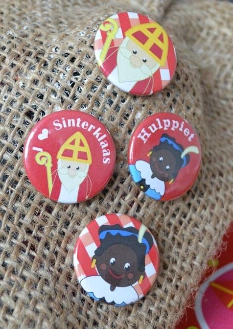 Sint en Piet buttons