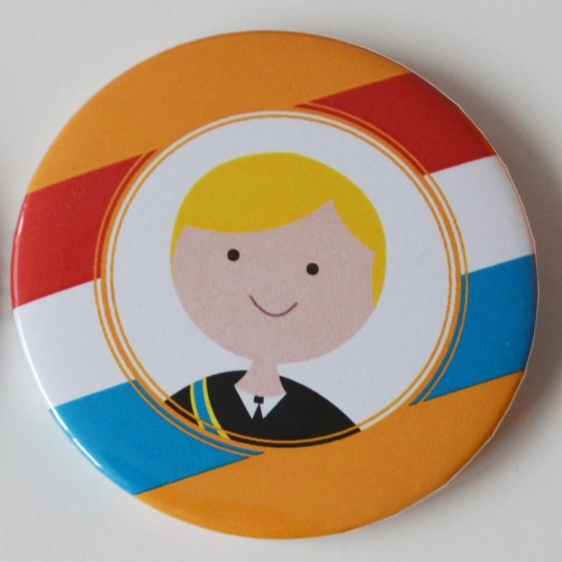 Koningsdag button