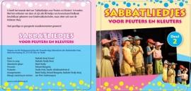 CD Sabbatliedjes voor Peuters en Kleuters (CD 2)