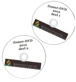 DVD Zomer 2012 (Preken) set deel 1 en 2