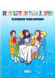 Het Leven van Jezus kleurboek kinderen
