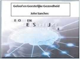 CD Studiedag thema Geloof en geestelijke gezondheid van John Sanches