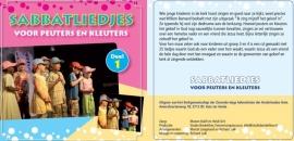 CD Sabbatliedjes voor Peuters en Kleuters (CD 1)