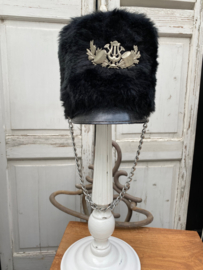 Oude fanfare hoed maat 54