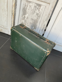 Franse koffer in groene kleur