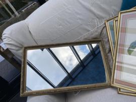 Brocante spiegel uit Frankrijk