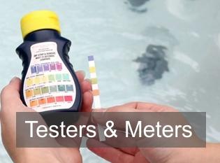 Jacuzzi testers en meters