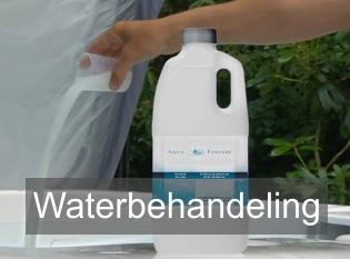 Jacuzzi water onderhoud