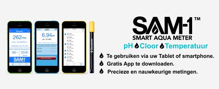 Sam-1 Digitale smartphone meter