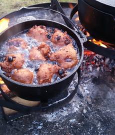 Workshop Avontuurlijk Buiten Koken op Houtvuur 24 Oktober 2020