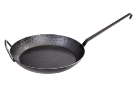 Graewe Smeedijzeren Wokpan 28 cm