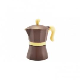 Moka Pot 3 cups Bruin