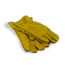 Lederen Handschoenen met Aramide voering