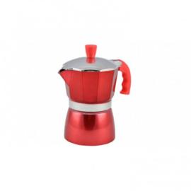 Moka Pot 3 cups Rood