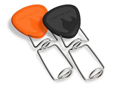 LMF Grandpa's Fire Fork Zwart/Oranje