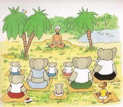 Babar's Yoga for Elephants van Laurent de Brunhoff