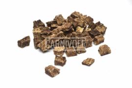 Carnivoer Eendenvleesblokjes 200 gram