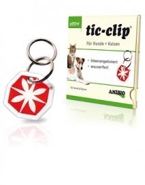 Tic-Clip Gifvrije penning tegen teken en vlooien