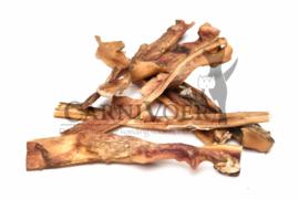 Carnivoer Runderkophuid extra hard 30 cm 500 gram