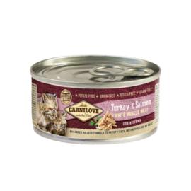 Carnilove Turkey & Salmon 100 gram (Kitten)