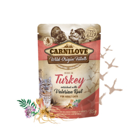 Carnilove Pouch - Turkey with Valerian