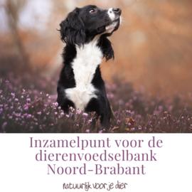 Inzamelpunt voor de dierenvoedselband Noord-Brabant