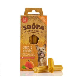 SOOPA Dental Sticks Carrot - Pumpkin