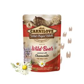 Carnilove Pouch - Wild boar with Chamomile 85 gram
