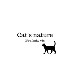 Cat's Nature beefmix vis 200 gram