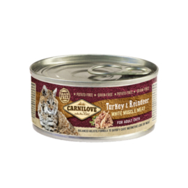 Carnilove Turkey & Reindeer 100 gram