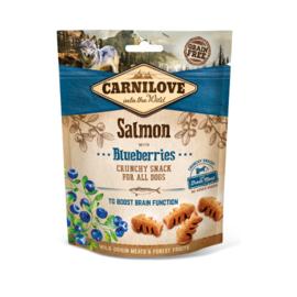 Carnilove Crunchy Salmon & Blueberries 200 gram