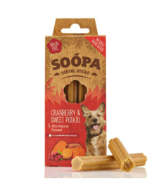 SOOPA Dental Sticks Cranberry - Sweet potato