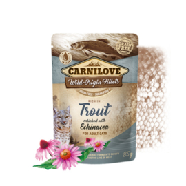 Carnilove Pouch - Trout with echinacea 85 gram