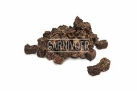 Carnivoer Rundvleesblokjes 200 gram