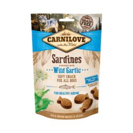 Carnilove Soft Sardines & Wild Garlic 200 gram