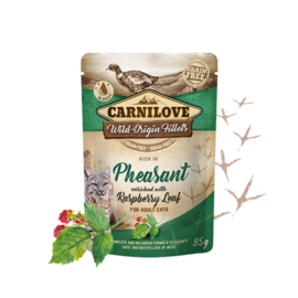Carnilove Pouch -  Pheasant with Raspberryleaves 85 gram