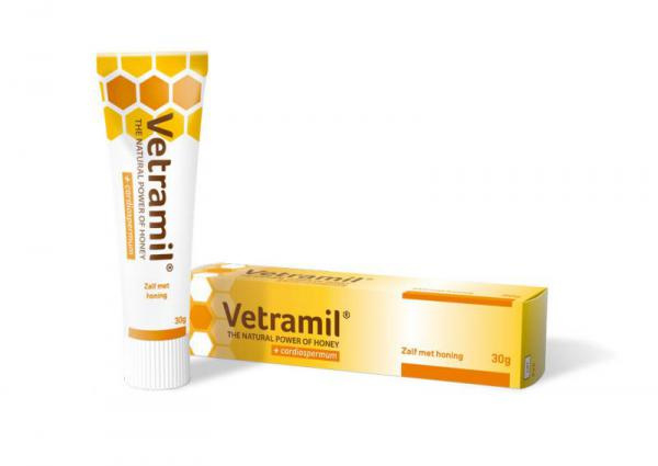 Vetramil zalf met honing 30 gram